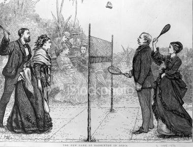 Så skal mændende altså også spille i ballettights - Slyngebarn Badminton Geschiedenis